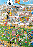 Jan Van Haasteren - 3-in-1 Football Jigsaw Puzzles screen shot 3