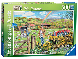 Happy Days at Work - The Farmer, 500pc Traditional Games