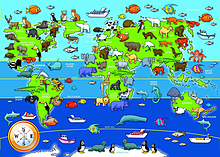 Animals of the World, 60pc Floor puzzle screen shot 1