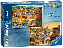Coastal Retreats, 2x500pc Traditional Games