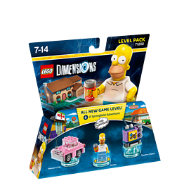 The Simpsons Level Pack - LEGO Dimensions Lego Dimensions
