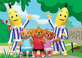 Bananas in Pyjamas Jigsaw Puzzle (35 Pieces) Traditional Games