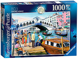 Around the World No. 3, Vintage Venice, 1000pc Traditional Games