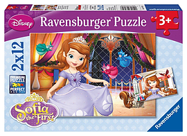 Sofia the First, 2 x 12pc Traditional Games