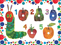 The Hungry Caterpillar My First Floor Puzzle, 16pc screen shot 1