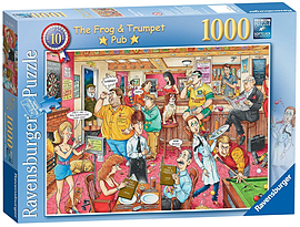 Best of British - The Frog and Trumpet Pub, 1000pc Traditional Games