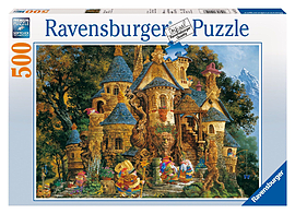 Ravensburger Puzzle - College Of Magical Knowledge (500pcs) (14112) Traditional Games