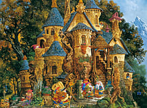 Ravensburger Puzzle - College Of Magical Knowledge (500pcs) (14112) screen shot 1