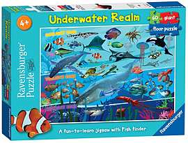 Underwater Realm Giant Floor Puzzle, 60pc Traditional Games