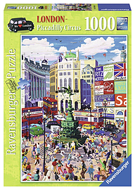 Chris Rogers - Piccadilly, 1000pc Traditional Games