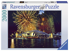 Fireworks Sydney, 2000pc Traditional Games