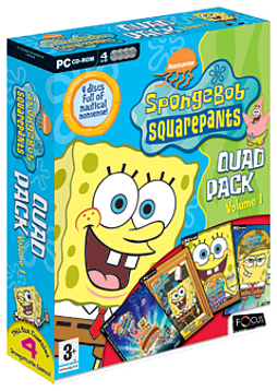 SpongeBob Squarepants Quad Pack Volume 1 PC