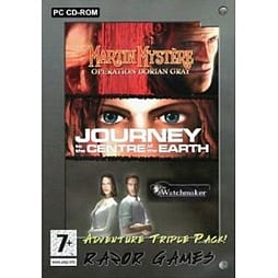 Adventure Games Collection (Martin Mystere + Journey To The Centre Of The Earth + The Watchmaker) PC