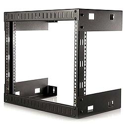 StarTech 8U Open Frame Wall Mount Equipment Rack - 12 inch Deep PC