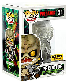 Cloaked Predator Pop! Vinyl with Green Blood Splatter [Exclusive] Figurines and Sets