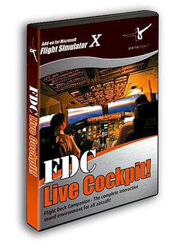 FDC Live Cockpit 2011 for FS2004 and FSX PC