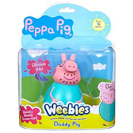 Peppa Pig Weebles Daddy Figure Pre School Toys