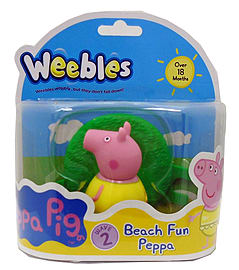 Peppa Pig Weebles Peppa in Bathing Suit Pre School Toys