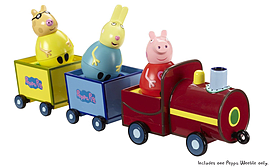 Peppa Pig Weebles Pull Along Wobbily Train Pre School Toys