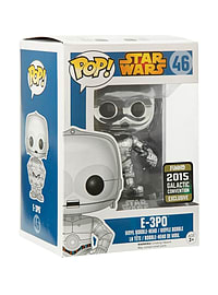 POP! Vinyl Star Wars E-3PO Chrome Convention Special Figure Figurines and Sets