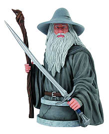 The Hobbit - Gandalf The Grey Collectible Mini Bust Figurines and Sets