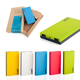 Ordel 10000mAh External Charging Power Bank Portable Battery Smartphone Tablets Green Mobile phones