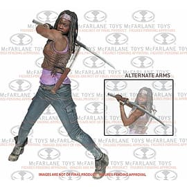 The Walking Dead 10 inch Michonne Deluxe Figure Figurines and Sets