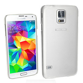 Frostycow Clear Silicone TPU Bumper Cover Case For Samsung S5 Mobile phones