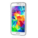 Frostycow Clear Silicone TPU Bumper Cover Case For Samsung S5 screen shot 1
