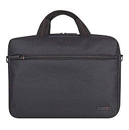 Tech Air Z0124 15.6 Black Handled Super Sleeve Front Pocket Shoulder Strap PC