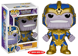 Funko POP Marvel: Guardians of The Galaxy Thanos 6-Inch POP Action Figure Figurines and Sets