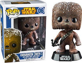 Funko - Figurine Star Wars - Chewbacca Hoth Exclu Pop 10cm Figurines and Sets