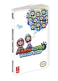 Mario and Luigi Dream Team - Prima Games Official Game Guide Books