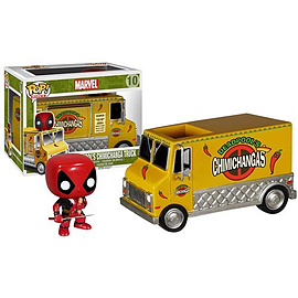 Deadpool Chimichanga Truck Pop! Vinyl Vehicle Figurines and Sets