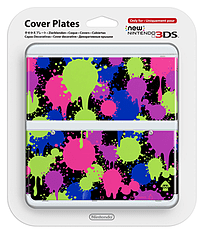 New 3DS Cover Plate - Splatoon Accessories