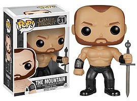 Funko POP Game of Thrones: The Mountain Action Figure Figurines and Sets