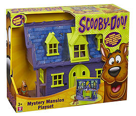 Scooby Doo Mystery Mansion Playset with Scooby Figure Figurines and Sets