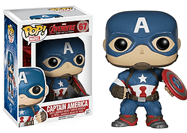 Funko Marvel: Avengers Age of Ultron - Captain America Pop! Vinyl Figure Figurines and Sets
