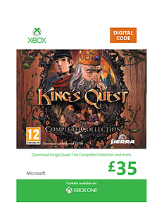 King's Quest: The Complete Collection XBOX ONE Cover Art