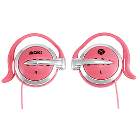 Moki Clip On - Pink Audio