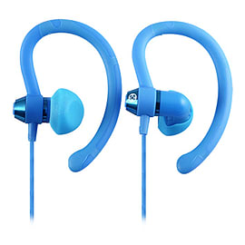 Moki 90° Sports Earphones Blue Audio