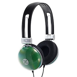 Moki Neon Headphones - Green Audio