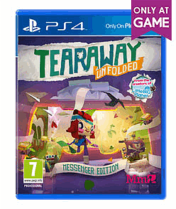 Tearaway Unfolded Messenger Edition - Only at GAME PlayStation 4