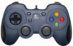 Logitech F310 Gamepad - Blue Accessories