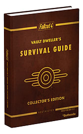 Fallout 4 Vault Dweller's Survival Guide Collector's Edition Strategy Guides and Books