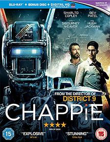 CHAPPIE (UV) Blu-Ray
