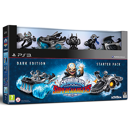 Skylanders Superchargers Dark Edition - Only at GAME PlayStation 3