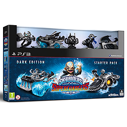 Skylanders Superchargers Dark Edition PlayStation 3 Cover Art