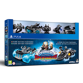Skylanders Superchargers Dark Edition PlayStation 4 Cover Art