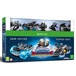 Skylanders Superchargers Dark Edition Xbox One Cover Art